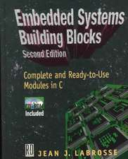 Embedded Systems Building Blocks [With]:  Groundbreaking Instruments and Pioneering Designers of Electronic Music Synthesizers