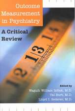 Outcome Measurement in Psychiatry