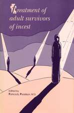 Treatment of Adult Survivors of Incest