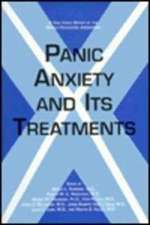 World Psychiatric Association: Panic Anxiety and Its Treatme