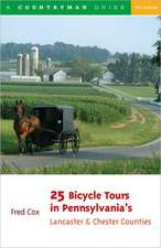 25 Bicycle Tours in Pennsylvania′s Lancaster & Chester Counties