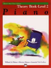 Alfred's Basic Piano Course Theory, Bk 2