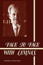 Face to Face with Levinas