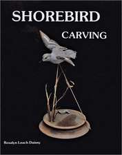 Shorebird Carving