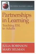 Robinson, J: Partnerships in Learning