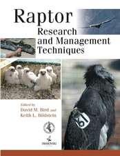 Raptor Research & Management Techniques