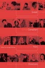 Great Canadian Film Directors