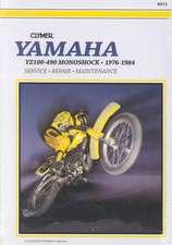 Clymer Yamahayz100-490 Monoshock 76-84:  Service, Repair, Maintenance