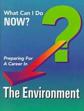 Publishing, F:  Preparing for a Career in the Environment