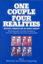 One Couple, Four Realities:  Multiple Perspectives on Couple Therapy