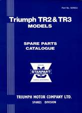 Triumph Tr2 & Tr3 Parts Catalo:  For Petrol and Diesel Models