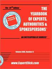 YEARBK OF EXPERTS -- 2009 -- V