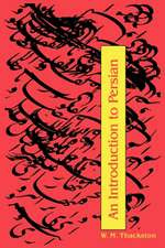 An Introduction to Persian (3rd Edition)