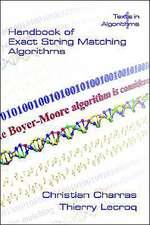 Handbook of Exact String Matching Algorithms