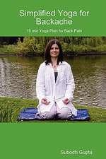 Simplified Yoga for Backache