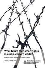 What Future for Human Rights in a Non-Western World?