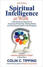 Spiritual Intelligence at Work: A RADICAL Approach to Increasing Productivity, Raising Morale & Preventing Conflict in the Workplace