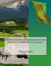 Ethnoveterinary Medicines Used for Pets in British Columbia