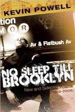 No Sleep Till Brooklyn:  New and Selected Poems