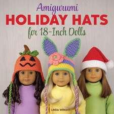 Amigurumi Holiday Hats for 18-Inch Dolls