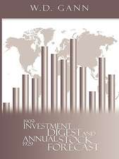 Investment Digest and Annual Stock Forecast