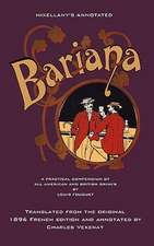 Mixellany's Annotated Bariana