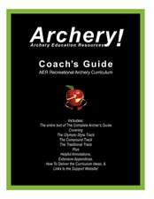 Coaches Guide, Aer Recreational Archery Curriculum:  Between the Sheets