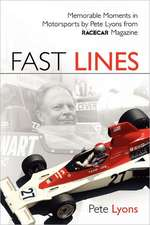 Fast Lines:  The 2001 Season with Dale Earnhardt Jr.