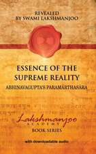 Essence of the Supreme Reality