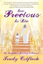 Too Precious to Die:  My Daughter's Journey to Heaven