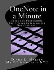 Onenote in a Minute
