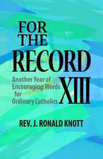 For the Record XIII