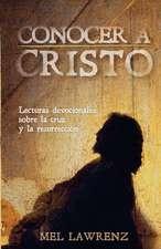 Conocer a Cristo