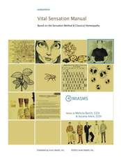 Vital Sensation Manual Unit 4 Miasms
