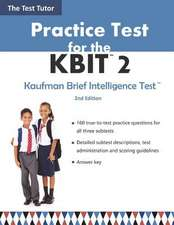 Practice Test for the Kbit 2