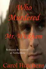 Who Murdered Mr. Wickham