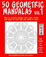 50 Geometric Mandalas Vol1