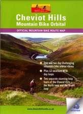Cheviot Hills Mountain Bike Orbital Map