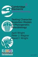 Testing Character Evolution Models in Phylogenetic Paleobiology