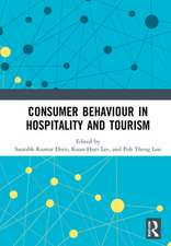 Consumer Behaviour in Hospitality and Tourism