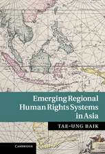 Emerging Regional Human Rights Systems in Asia