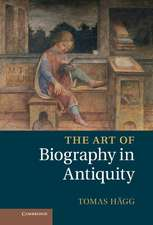 The Art of Biography in Antiquity