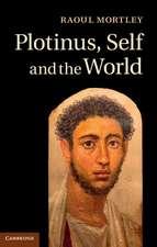 Plotinus, Self and the World `