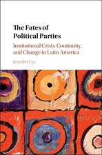 The Fates of Political Parties: Institutional Crisis, Continuity, and Change in Latin America