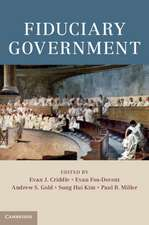 Fiduciary Government