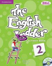 The English Ladder Level 2 Activity Book with Songs Audio CD