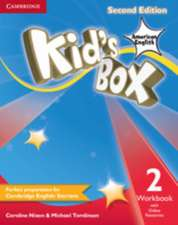 Kid's Box American English Level 2 Workbook with Online Resources