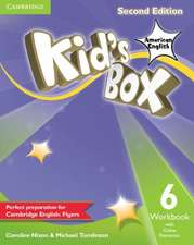 Kid's Box American English Level 6 Workbook with Online Resources