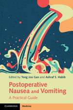 Postoperative Nausea and Vomiting: A Practical Guide