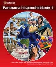 Panorama hispanohablante Student Book 1